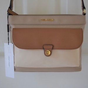 Calvin Klein Nylon Pocket Zip Crossbody Bag